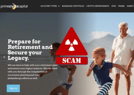 BaFin warns against PrimeCryptoCapital