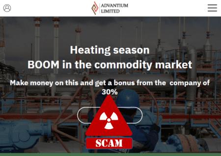 FCA warns against Advantium broker scam