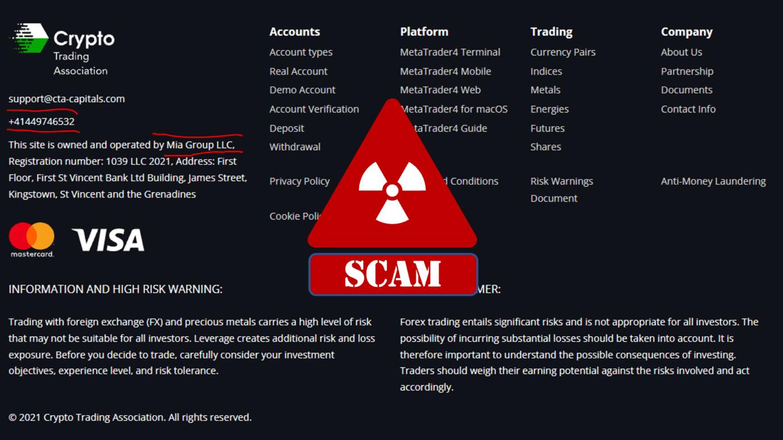 BaFin investigates Crypto Trading Association broker scam