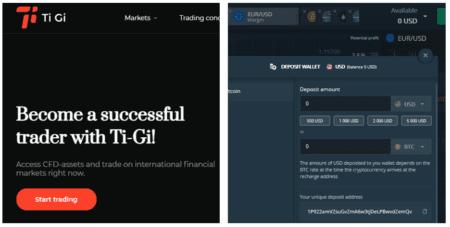 Investor warning Ti-Gi broker scam